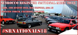2018 Scirocco Register National Meet @ RAF Cosford